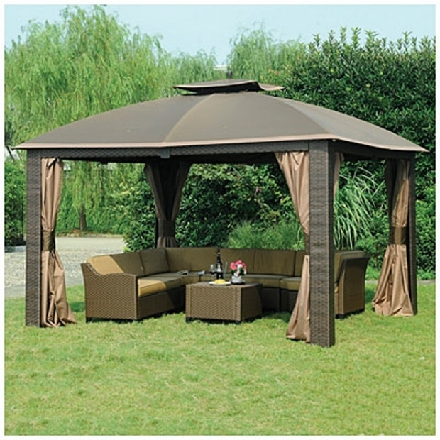Marvelous Wilson & Fisher Sonoma Gazebo Wilson And Fisher Sonoma 10 X 12 Gazebo Dropress Gazebos
