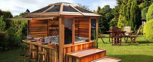 Stunning Hot Tub Gazebo Plans Gazebos Gazebo For Hot Tubs