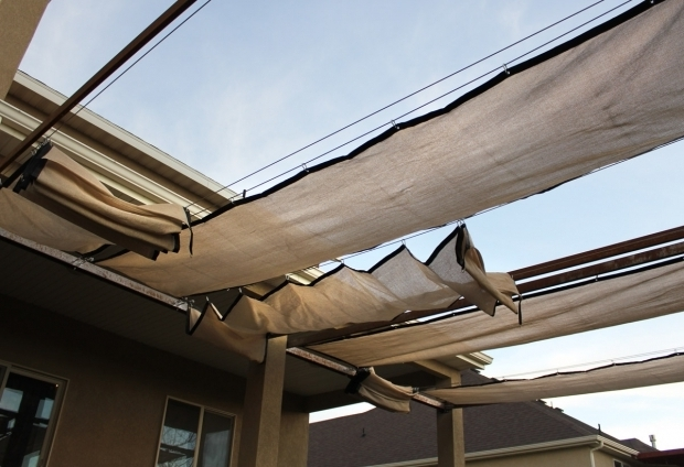 Retractable Pergola Shade Cloth