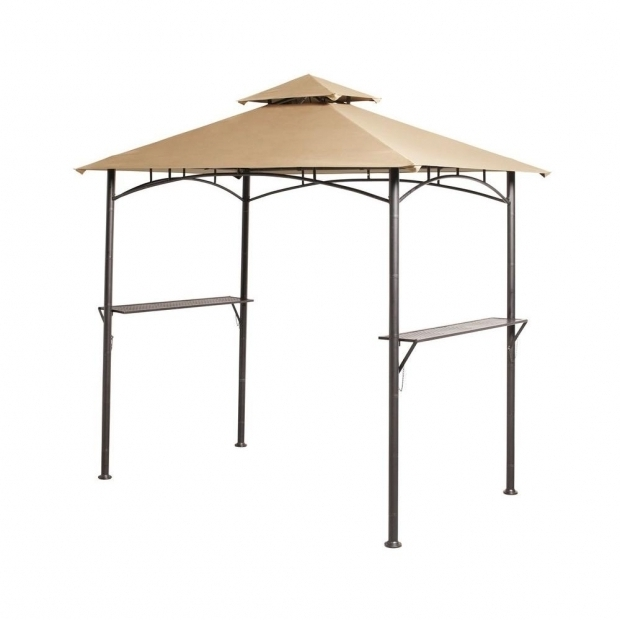 Wonderful Hampton Bay Grill Gazebo Replacement Canopy Upc 846822012520 Hampton Bay Gazebos 8 Ft X 5 Ft Tiki Grill
