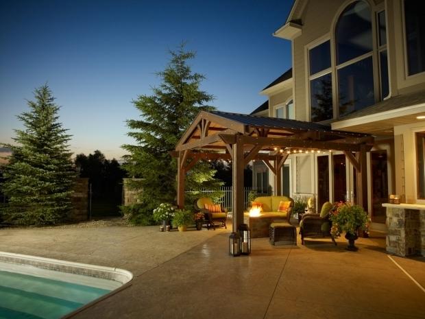 Alluring Pergola With Metal Roof Optional Metal Roof Lodge Pergola Pergola Accessories Pergolas