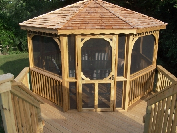 Alluring Screened Gazebo For Deck Chicago Outdoor Living With Archadeck Of Chicagoland