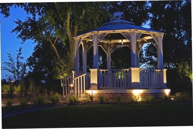 Awesome Solar Lights For Gazebo Hanging Solar Lights For Gazebo Gazebo Ideas