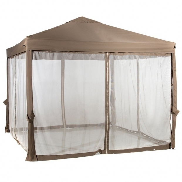 Beautiful Gazebo With Mosquito Netting 10 X 10 Outdoor Garden Gazebo With Mosquito Netting