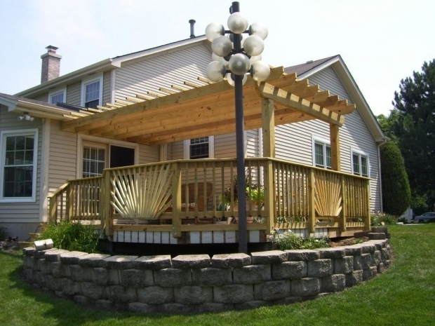 Beautiful Pergola Over Deck Beautiful Pergola Over Deck Thediapercake Home Trend