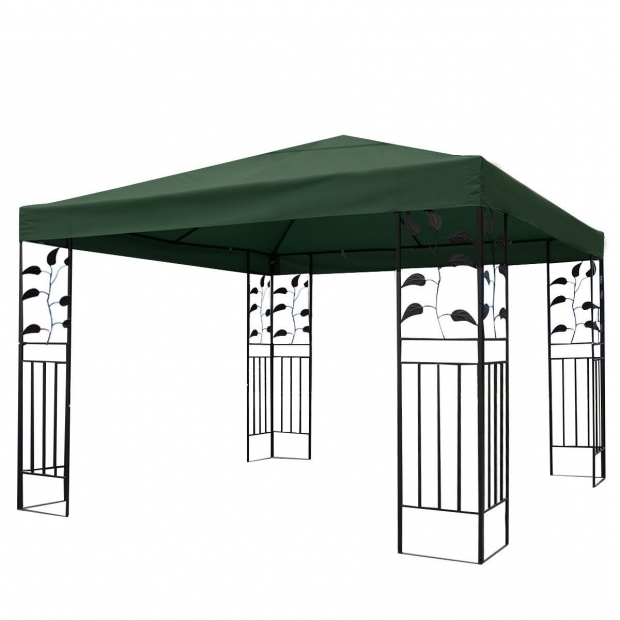 Gazebo Canopy Replacement Covers 10×10 Two Tier