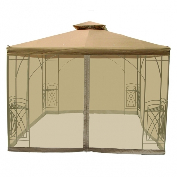 10×10 Gazebo With Netting