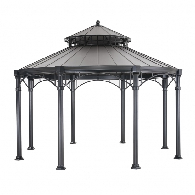 Gorgeous Metal Roof Gazebo Sam's Club Mulford Hardtop Gazebo Sams Club Gazelos Pinterest Gazebo