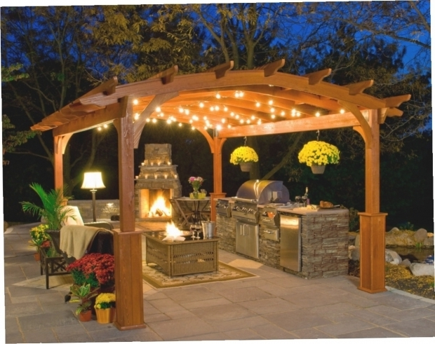 Gorgeous Solar Lights For Gazebo Hanging Solar Lights For Gazebo Gazebo Ideas