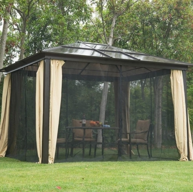 Inspiring Metal Roof Gazebo Sam's Club Outdoors Small Wooden Gazebo With Metal Roof Gazebo On The Lake