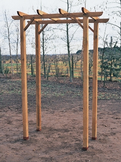 Outstanding How To Build A Simple Pergola How To Build A Freestanding Wooden Pergola Kit How Tos Diy