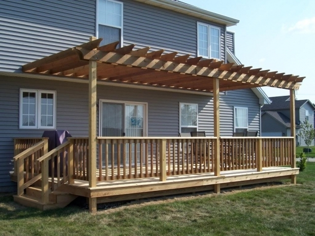 How To Build A Pergola Over A Deck