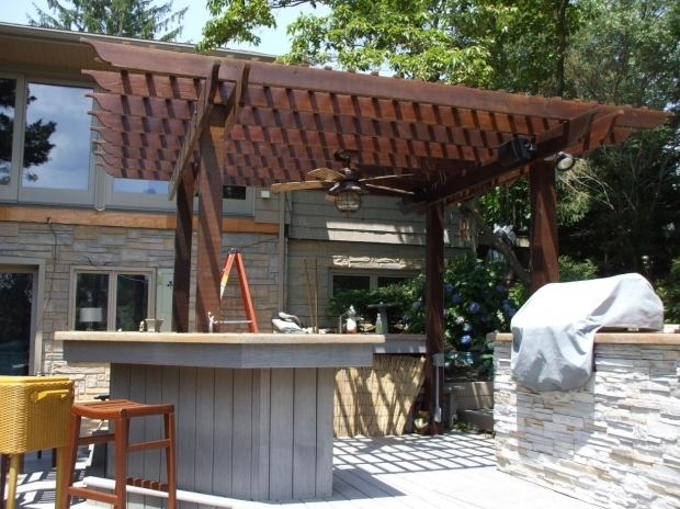 Remarkable How To Make A Pergola Roof Building Detached Pergola On Concrete Need Advice Construction