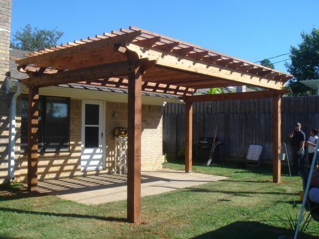 Wooden Gazebo Roof Ideas