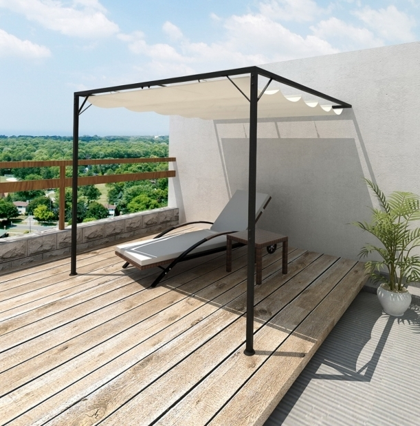 Diy Pergola With Retractable Canopy
