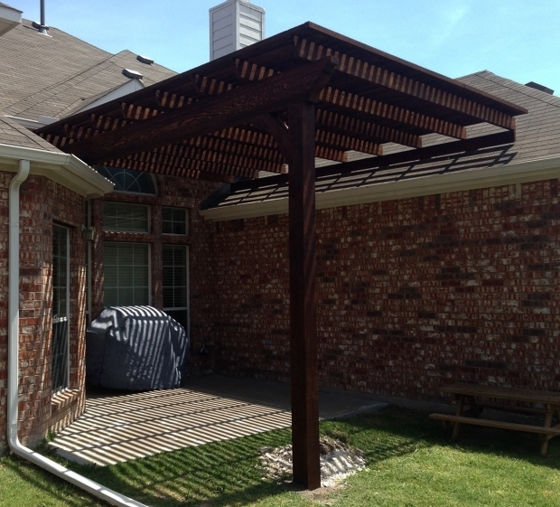 Pergola Designs With Metal Roof: Pergola Attached To Roof