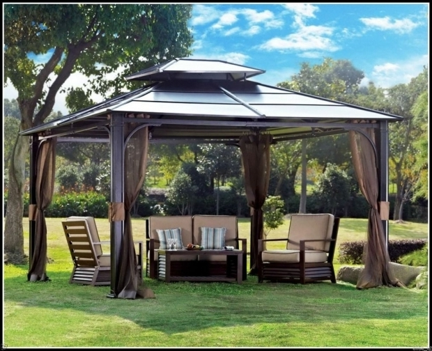 Delightful Metal Gazebo Roof Ideas Gazebo Ideas Backyard Gazebo Ideas With Metal Gazebo Canopies Are