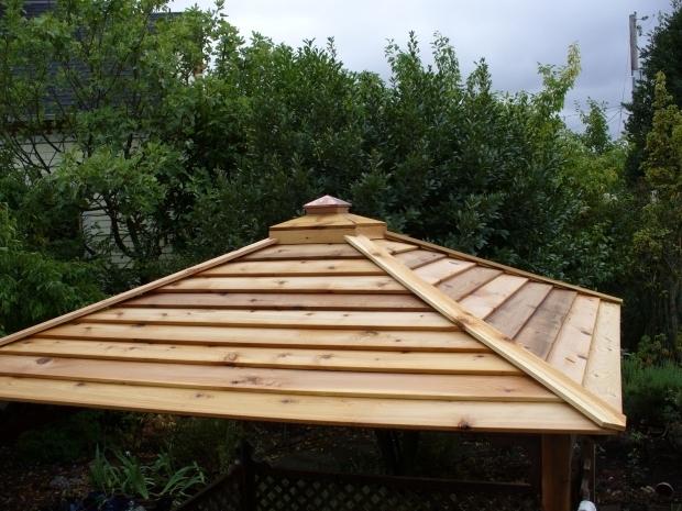 Delightful Metal Gazebo Roof Ideas Gazebo Roofing