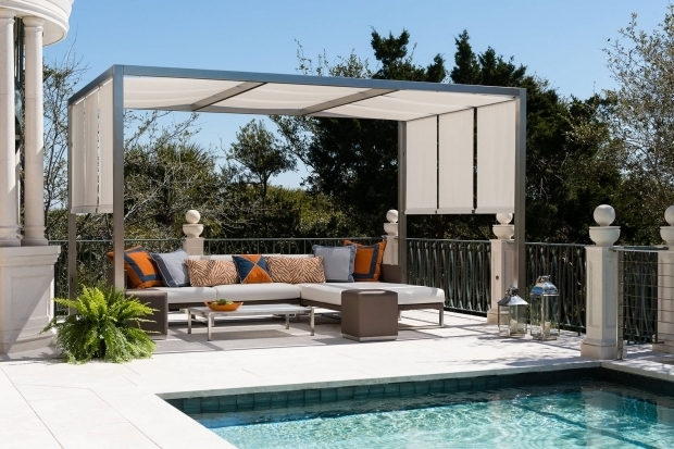 Delightful Pergola With Fabric Pergola Roof Ideas What You Need To Know Shadefx Canopies