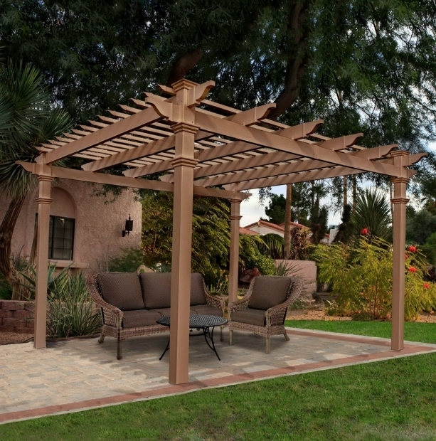 Delightful Vinyl Gazebo Kits Vinyl Pergola Kits Amazon Home Design Ideas
