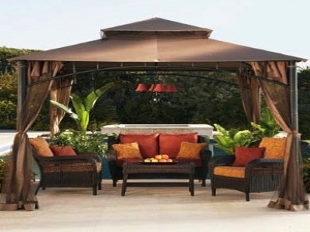 lowes patio gazebo pergola gazebo ideas. Black Bedroom Furniture Sets. Home Design Ideas