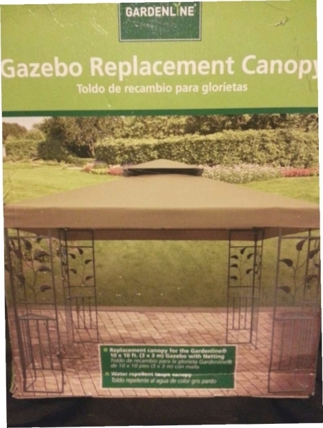Gardenline Gazebo Replacement Canopy