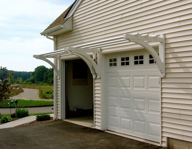 Pergola Over Garage Door Plans